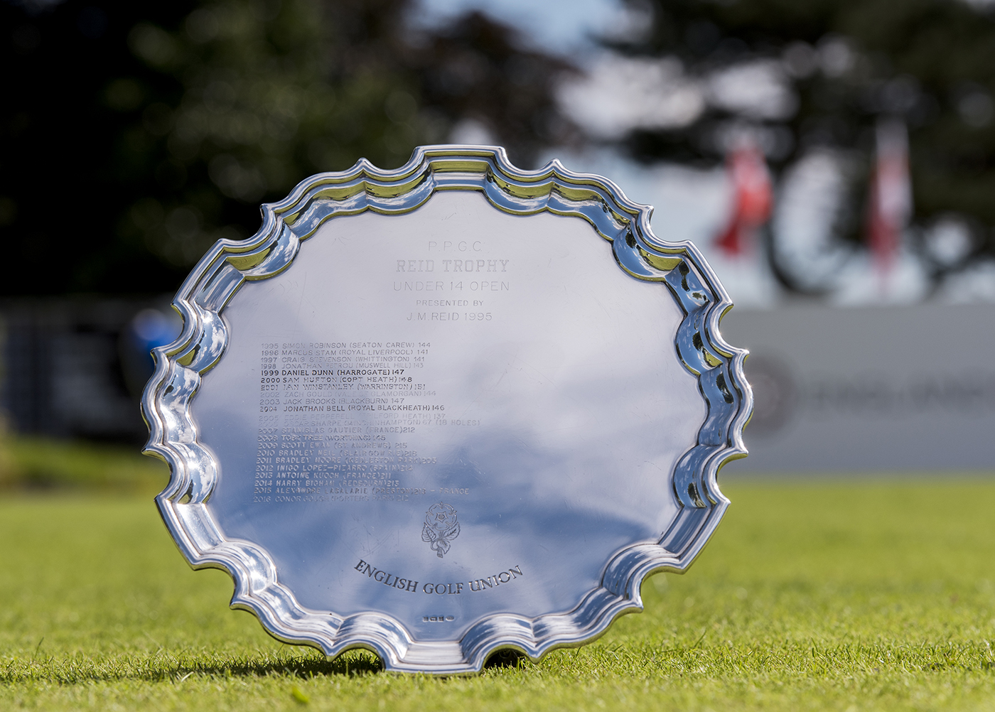 English U14 Boys' Open Amateur Stroke Play for the Reid Trophy