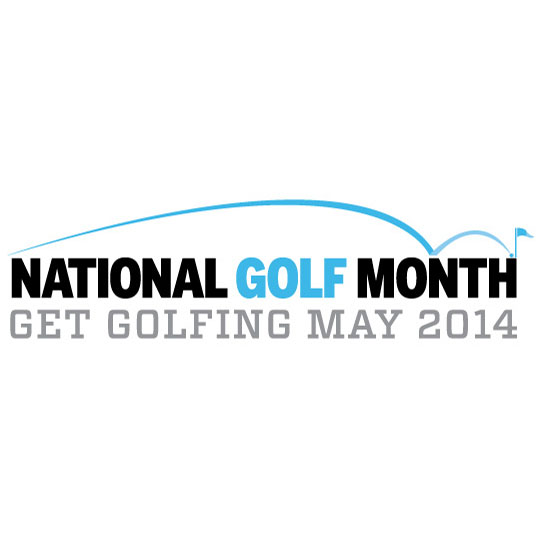 National Golf Month logo