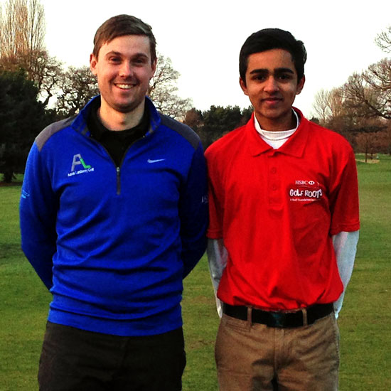 Ali Jodiyawalla right and Aaron Lansberry