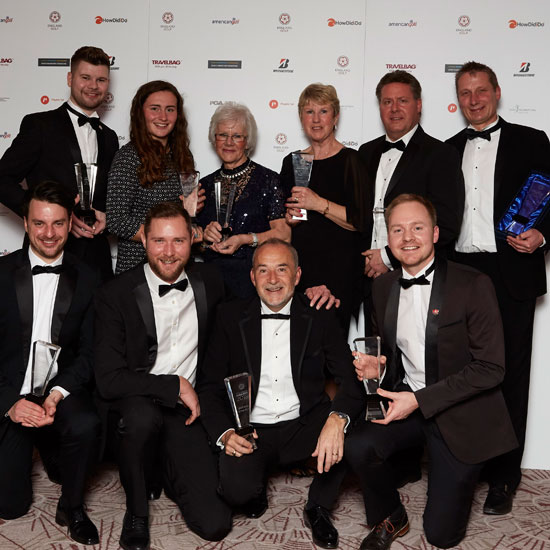Awards celebrate all that's great about golf in England