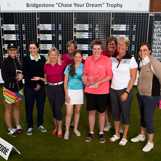 Eighteen golfers are chasing their dreams
