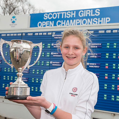 Emily Price Scottish champ