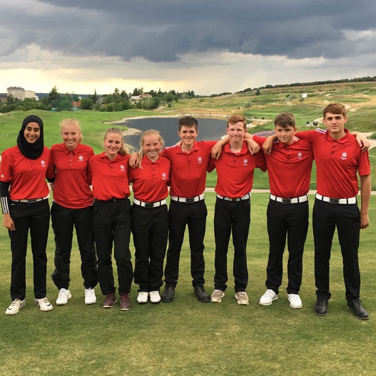 England U16s return with heads held high