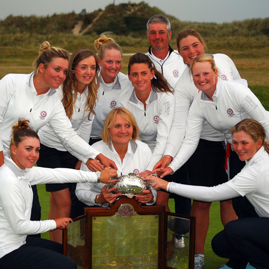 England Womens Home Ints champs 2014