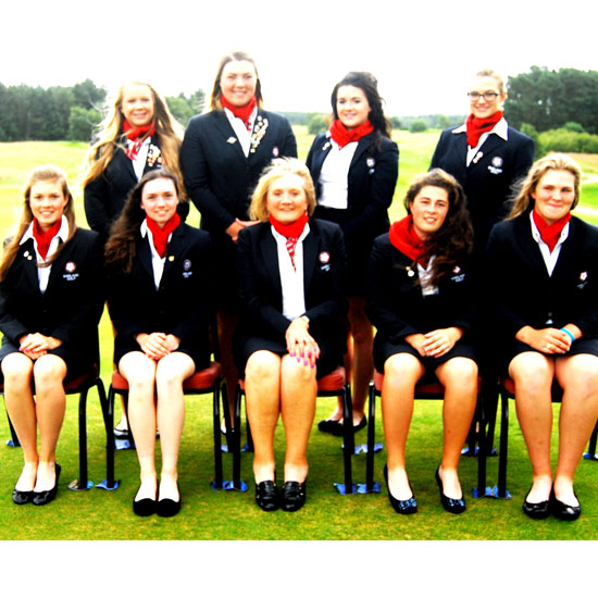 England girls 2015