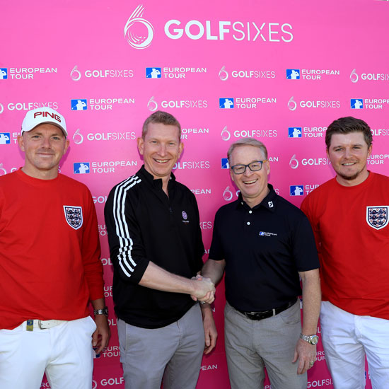 Golf Sixes Matt Wallace Nick Pink Keith Pelley Eddie Pepperell credit Getty Images