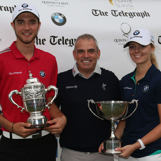 Harry Goddard Paul McGinley Hannah Screen