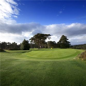 Hindhead Golf Club 1st green