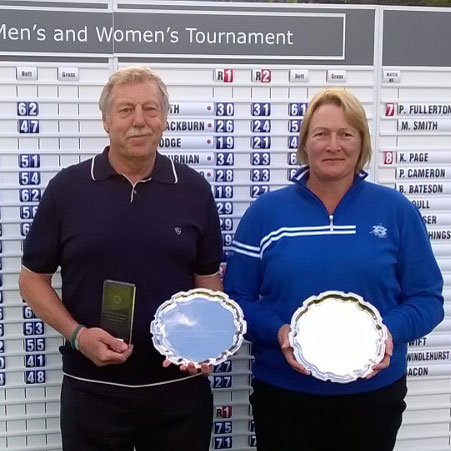 2015 Senior Men's & Women's North Regional winners