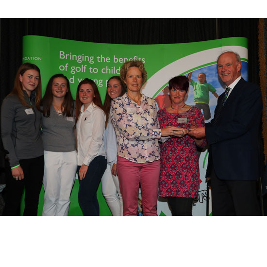 Girls Golf Rocks Laddie Lucas Award