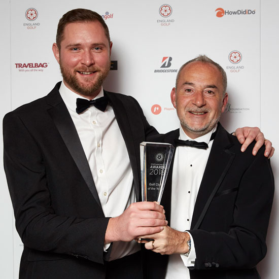 Leeds Golf Centre wins England's Club of the Year title
