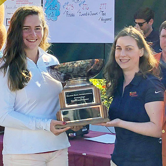 Lily May takes first USA title by nine shots