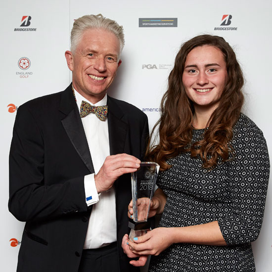 Top award for teenage golf star Lily May