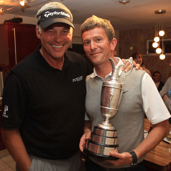 Rob Watts and Darren Clarke