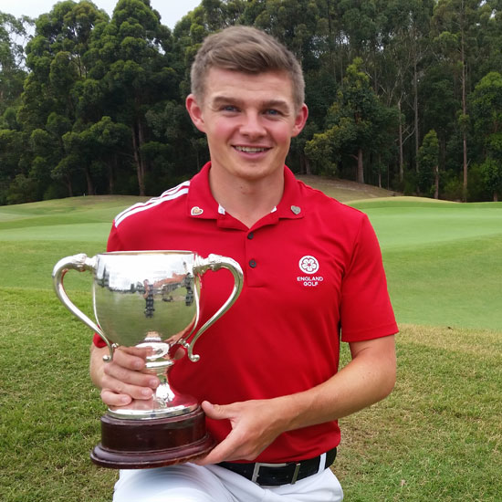 Scott Gregory Golf NSW champ