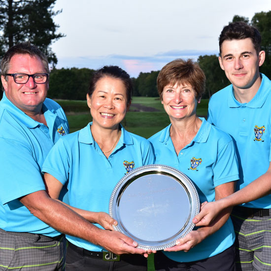 Whitby quartet pull off title double