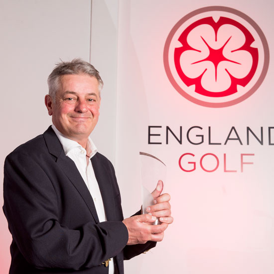 England Golf honours leading coaches Robinson and Kenyon