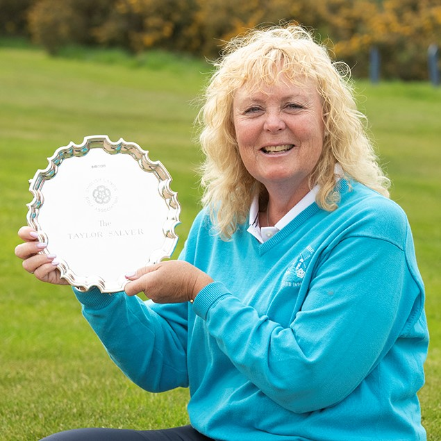Aileen wins her first England title