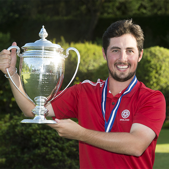 Alfie Plant European amateur champion