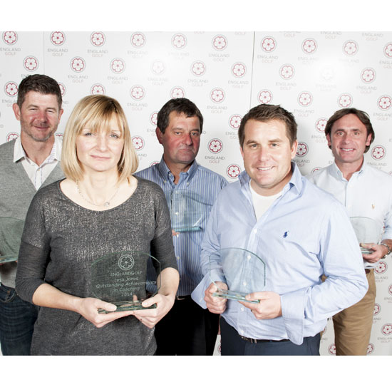England Golf coaching awards