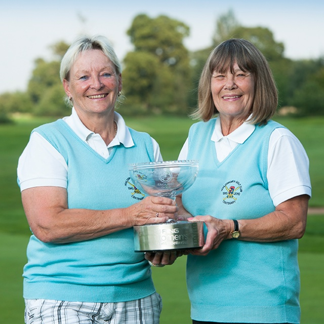 2014 PING winners Sheila Mcdonald and Pam Wiseley
