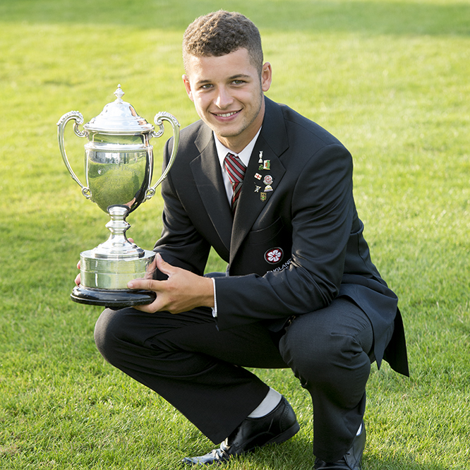 2014 Carris Trophy Winner - Haydn McCullen