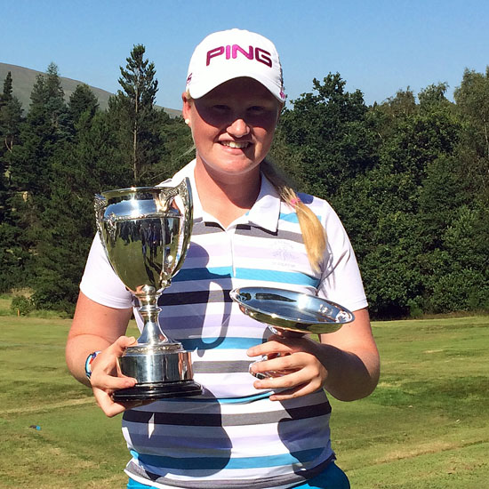 India Clyburn Scottish junior open