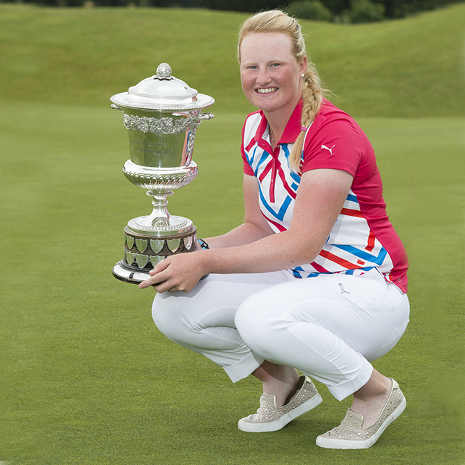India Clyburn -English Girls' Amateur Champion 2014