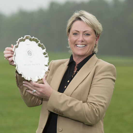 2014 English senior champion Julie Brown