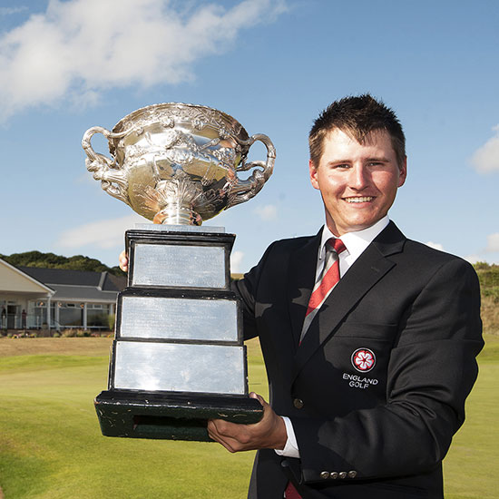 2014 English Amateur Champion - Nick Marsh