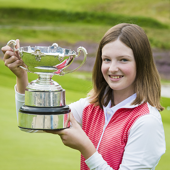Lottie wins England's Most improved' title