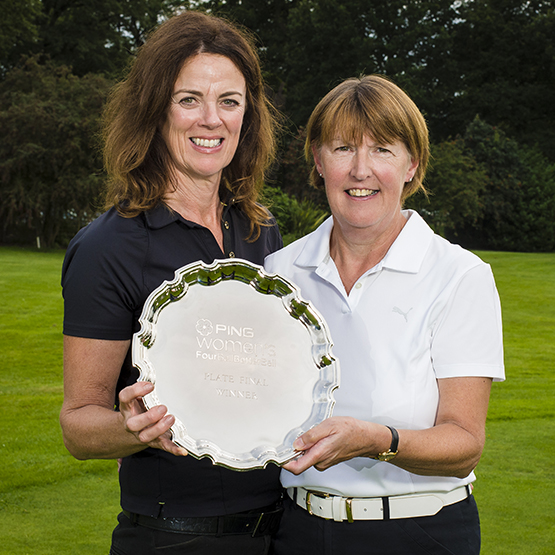 PING Plate joy for Surrey pair