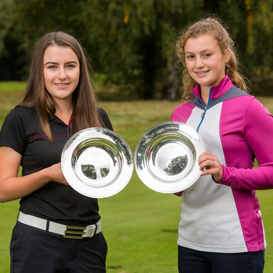 Natasha and Georgia win Champion of Champions titles