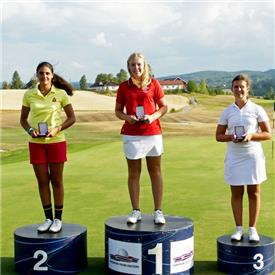 Caitlin powers away to win European Young Masters