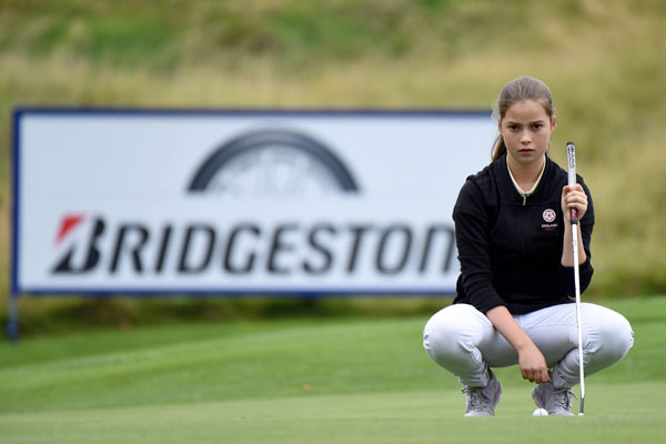 Women and Girls' Golf Week: Hannah Golding, 15, on competing and enjoying golf at the top