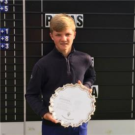 England's Adams wins Reid Trophy in play-off