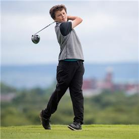 Talented pair head for the Junior Open