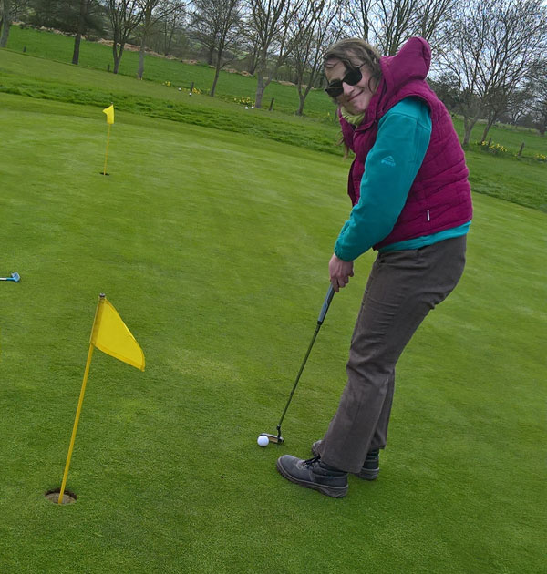 Women and Girls' Golf Week: Young stroke survivor Rachael Harrison tells how golf has helped her recovery
