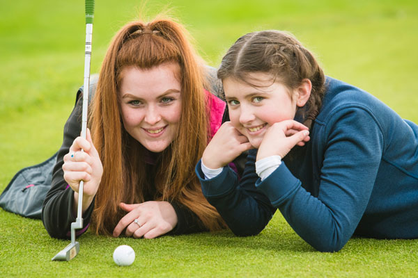 Women and Girls' Golf Week: Ysobel Lush, 17, is a dedicated volunteer and passionate about getting girls into golf