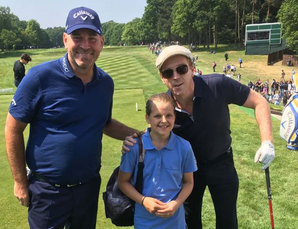 Women and Girls' Golf Week: Jessica Pilgrim, 13, is a Young Ambassador for England Golf and the Golf Foundation – and she's been mixing with some big names! Here's her story
