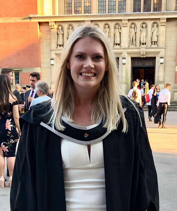 Women and Girls' Golf Week: Sophie Mills has just graduated top of her class and is gaining work experience with the Ladies European Tour. Here's her story