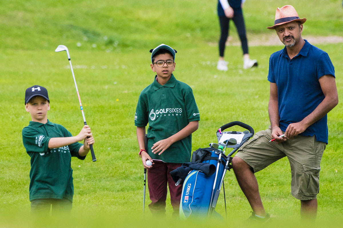 GolfSixes kids in a League of their own
