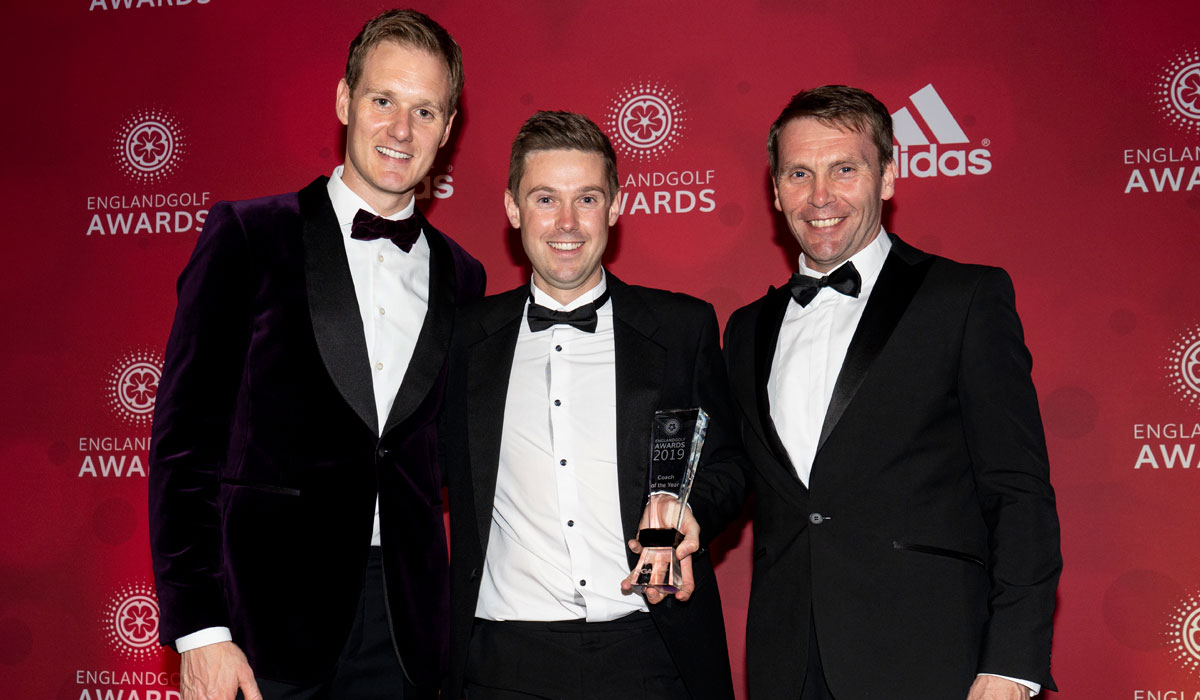 Top national award for Birmingham golf coach