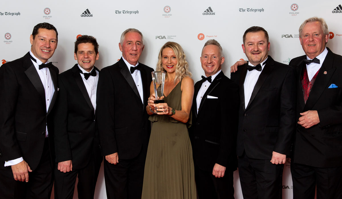 Exeter club wins golf's 'Most Welcoming' Award