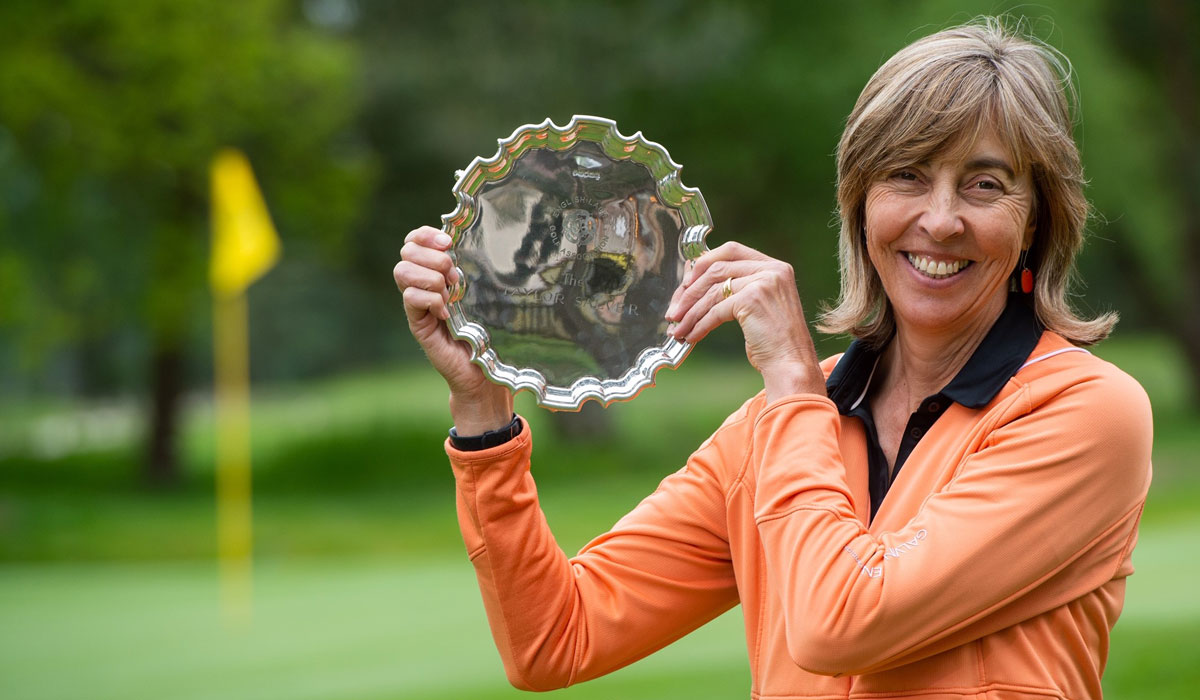 Caroline wins second English senior title