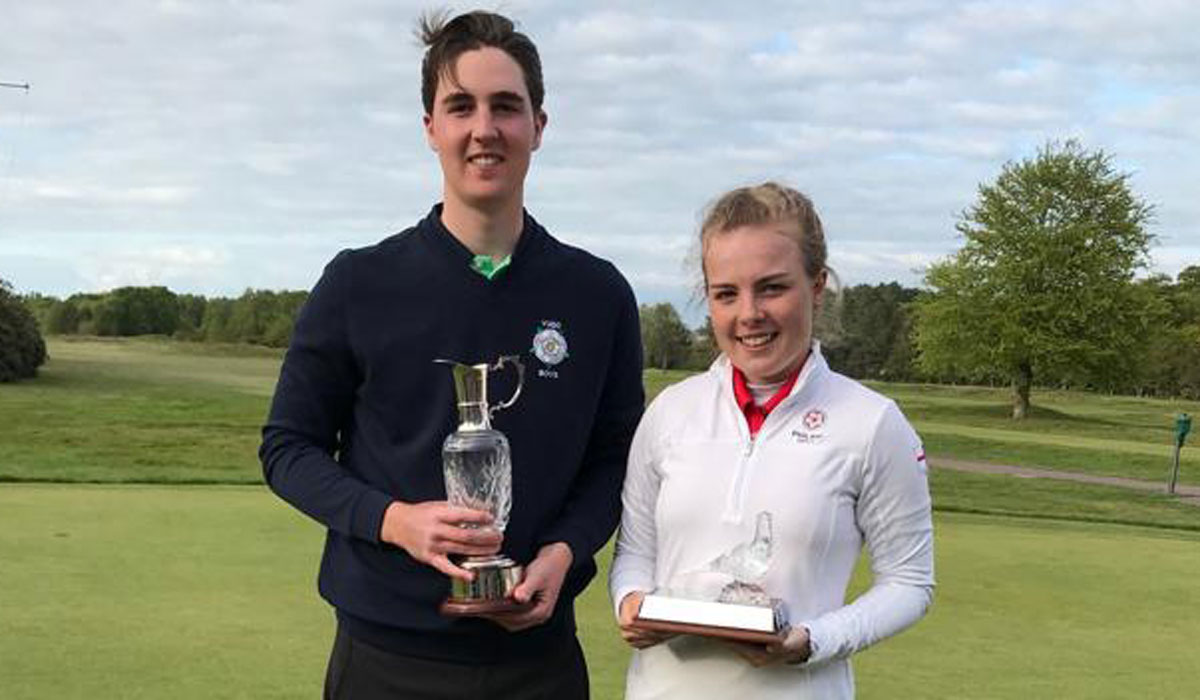 England pair win Fairhaven Trophies in style
