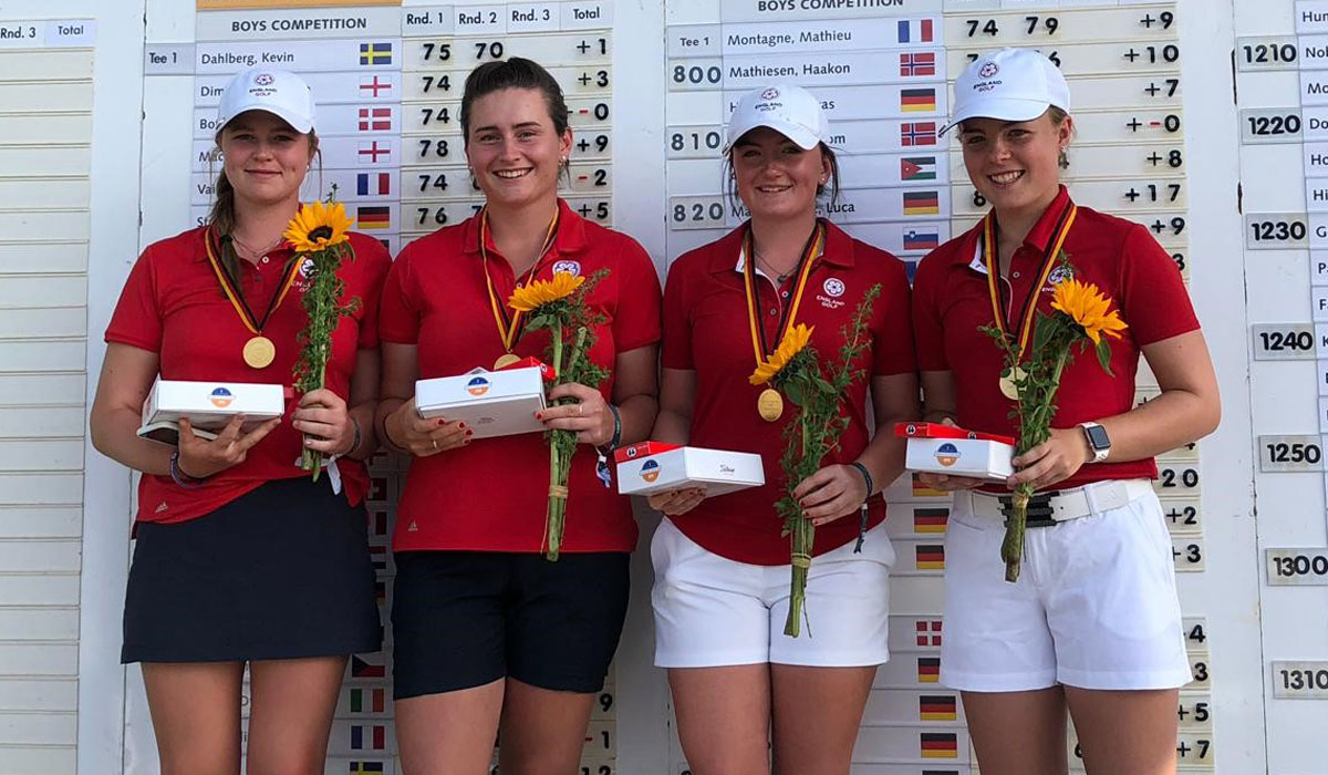 Nations Cup triumph for England girls
