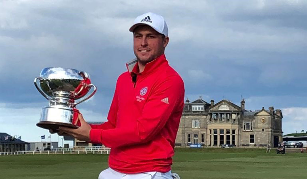England's Burnage wins St Andrews Links Trophy