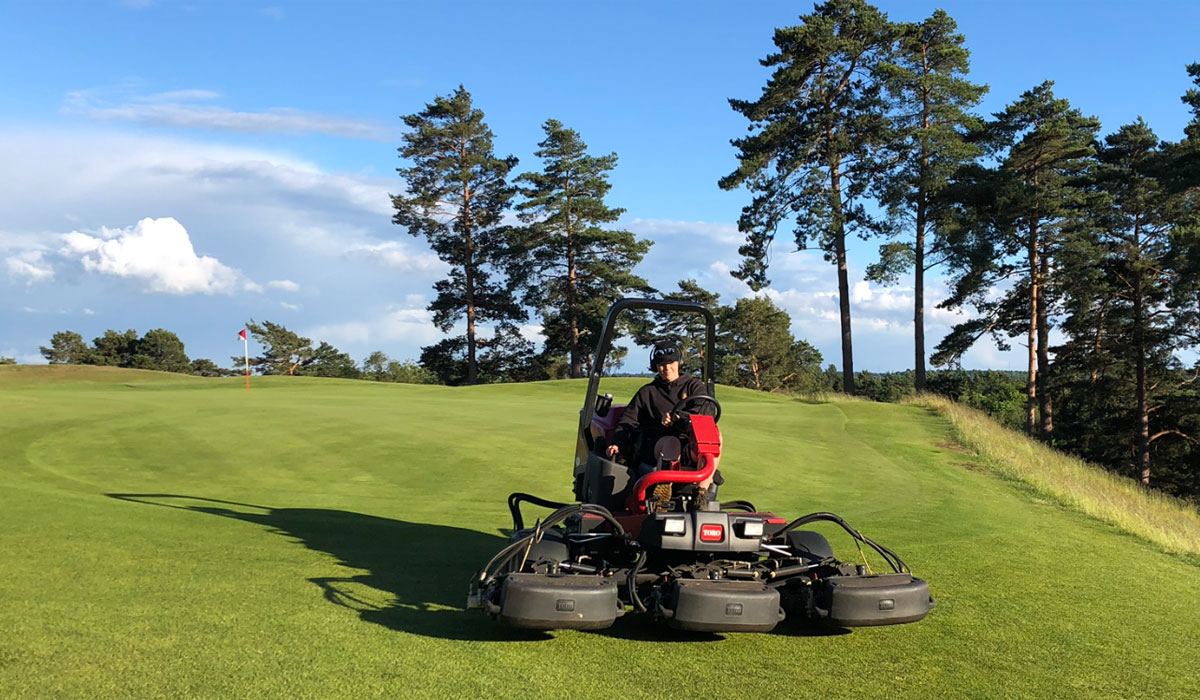 Careers: Greenkeeping is the life for Sophie