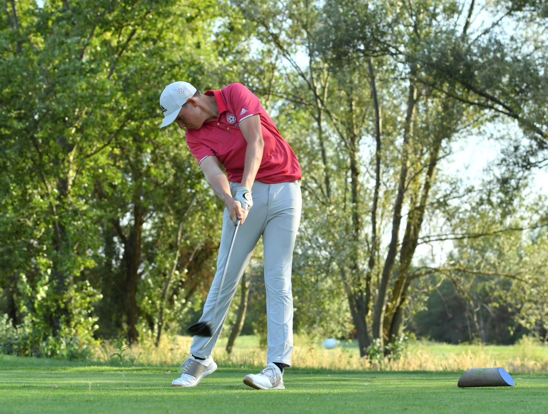 Josh Hill climbs leaderboard in second day at European Young Masters